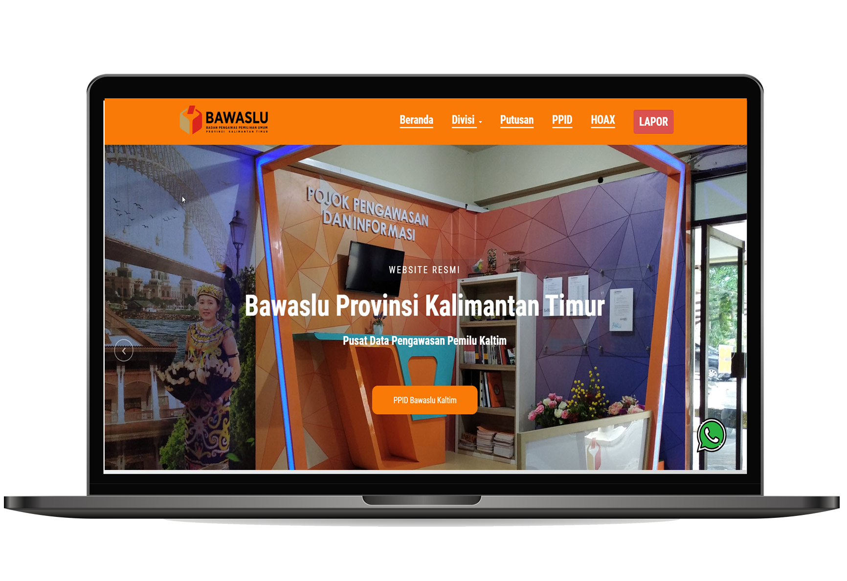 Website Company Profile - Bawaslu